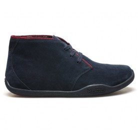 Aalto Chukka Boot Leather - Navy