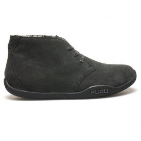 Aalto Chukka Boot Leather - Charcoal Gray