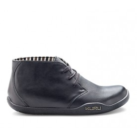 Aalto Chukka Boot Jet Black Leather