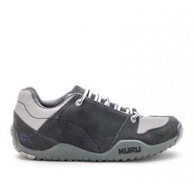 Kruzr II Women's Comfort Shoes for Plantar Fasciitis Slate Gray-Fog-Plum www.kurufootwear.com
