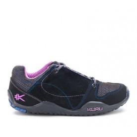 Kruzr II Women's Comfort Shoes for Plantar Fasciitis Black-Orchid www.kurufootwear.com