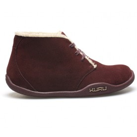 Aalto Chukka Boot Suede Leather - Plum