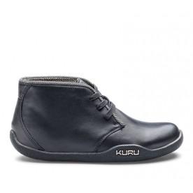 Women's Aalto Chukka Boot Jet Black Leather