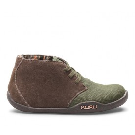 Aalto Chukka Boot - Women's Casual Boot Dark Moss Army Green