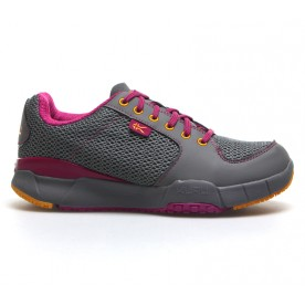 Kinetic Mesh - Gray, Pink & Orange
