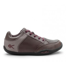 Pika Women's Business Casual Shoe Cocoa-Raspberry www.kurufootwear.com