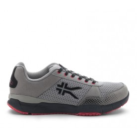 Quantum Mesh - Gray, Black, Red