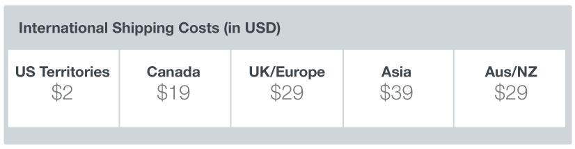 international shipping options