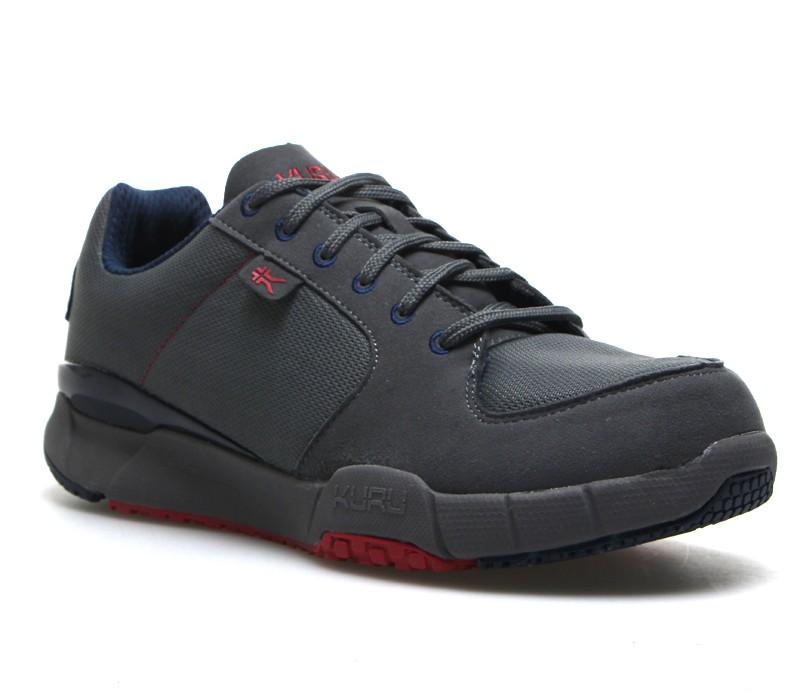 KINETIC Men's Comfortable Walking Shoe KURU Plantar ...
